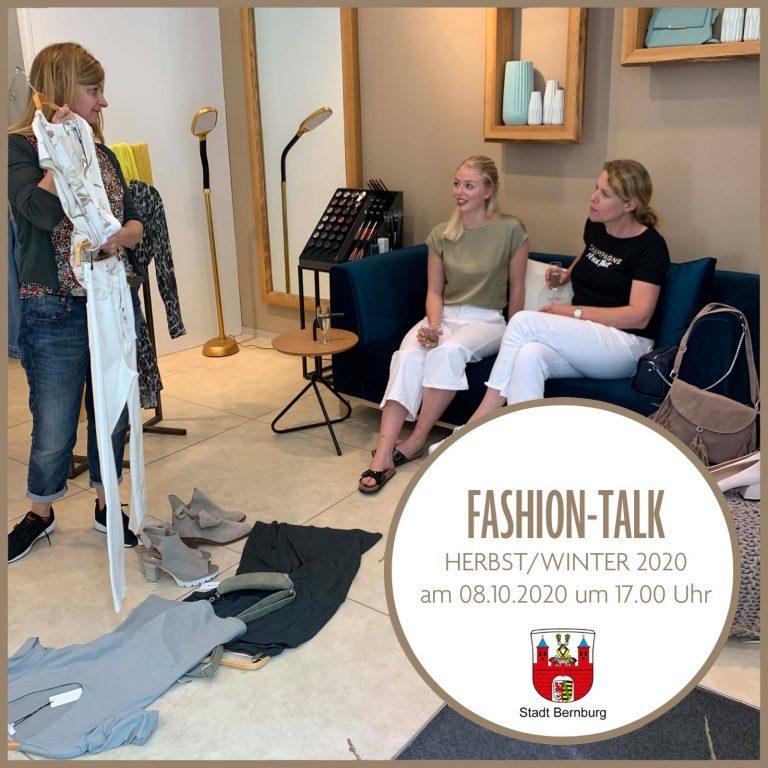 Fashion-Talk am 08.10.2020